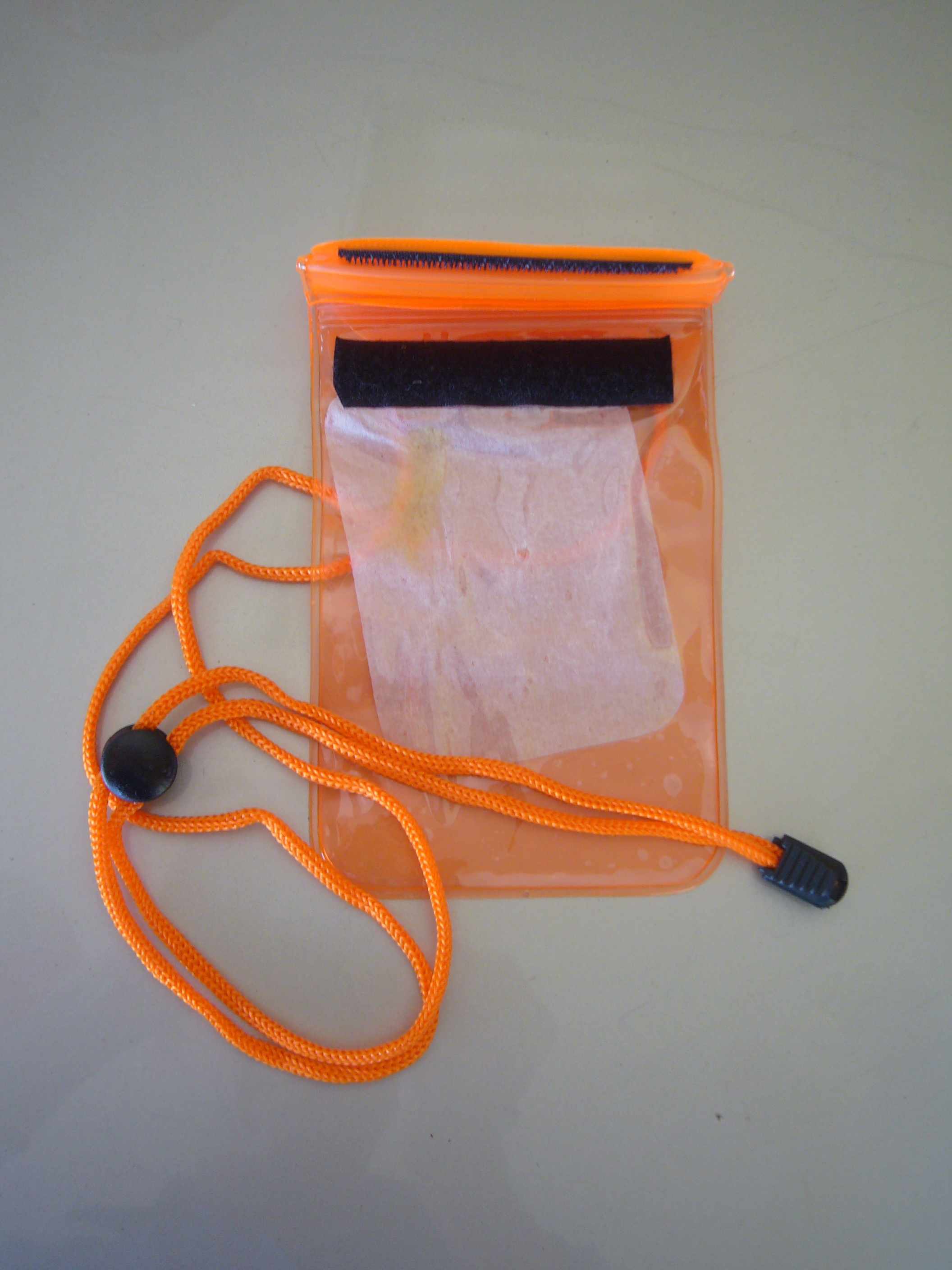 Front View Water Proof Pouch