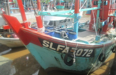 Fishing Boat at Sungai Besar